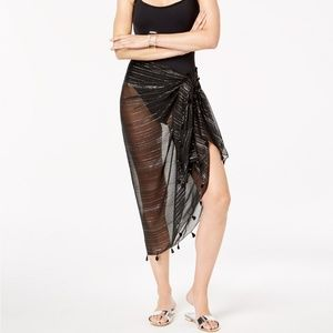 INC International Concepts Accessories - INC Summer Metallic Wrap Scarf Sarong Coverup
